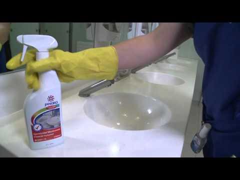 WASHROOM CLEANING TRAINING VIDEO