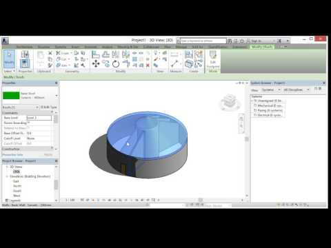 How to design a circular building using Revit 2016
