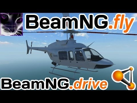 BeamNG.fly - HELICOPTER CRASH TESTING & Flying - [BeamNG drive]