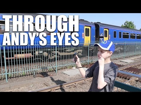 NOTTINGHAM TRAINS & TRAMS MAY 2018 THROUGH AUTISTIC EYES