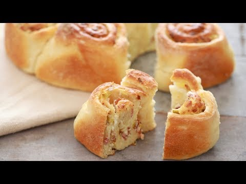Crazy Dough Stuffed Bread - Gemma's Crazy Dough Bread Series Ep 7