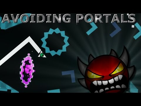 AVOIDING PORTALS IN EXTREME/INSANE DEMONS! | Geometry Dash