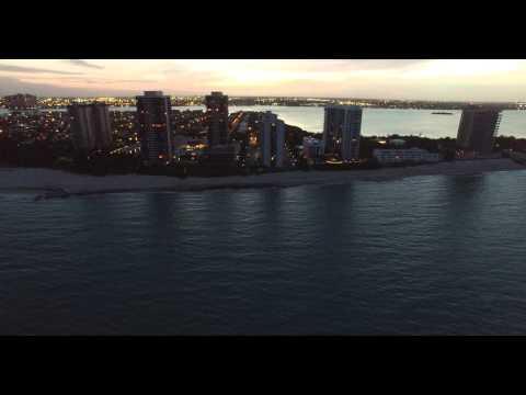 Singer Island at dusk