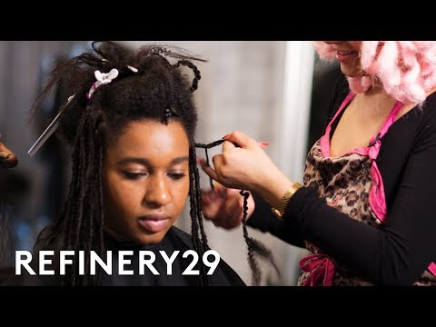 My Dramatic Faux Goddess Locs Hair Transformation   Hair Me Out   Refinery29