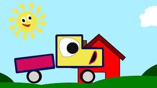 Download Детский мультик Весёлый Грузовичок (3-9 месяцев) / Children's cartoon Funny Truck Video
