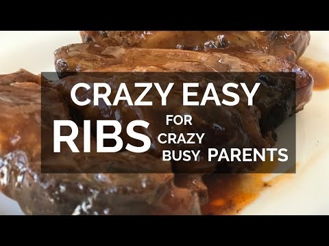 Crazy Easy Ribs for Crazy Busy Parents I FOOD I How to Cook Craft & Kids