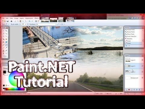 Paint.NET S04 E04 | Basic things you can do as a beginner (part 2 of 2)