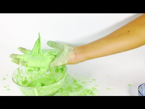 How to Make MAGIC MUD  without tonic water  with cornstarch
