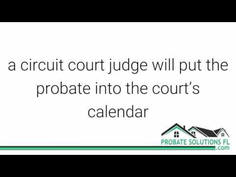 Florida Probate Process | Where Is A Probate Filed In Florida?