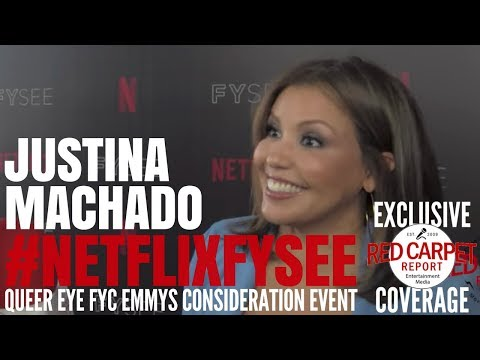 """Justina Machado interviewed at the """"One Day at a Time"""" Netflix FYSee Event #NetflixFYSee #ODAAT"""