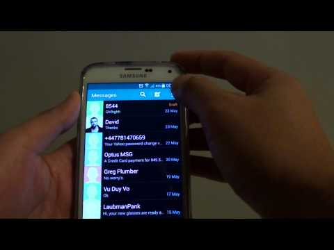 Samsung Galaxy S5: How to Enable / Disable Text Messages Sending Priority