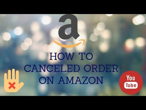 How to Cancel an Order On Amazon without getting charged in hindi!  BY Technical Fusion