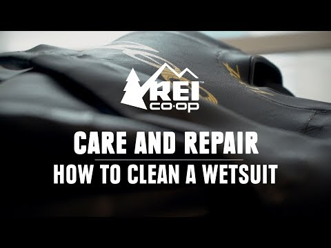 How to Clean a Wetsuit    REI