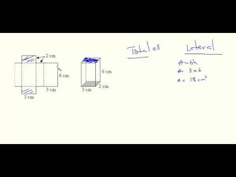 Lateral and Total Surface Area- Rectangular Prism