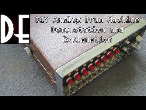 DIY Analog Drum Machine - Drumique - Demonstration