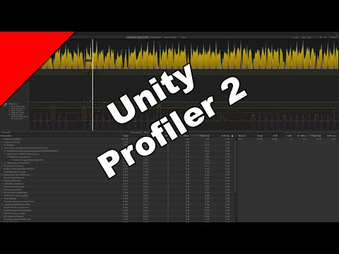 Unity Profiler 2 - Call Count