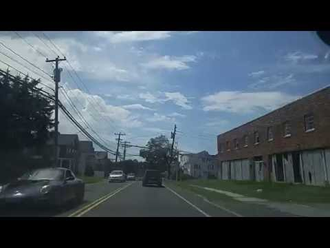 Driving on Route 1 thru Norwalk,Connecticut