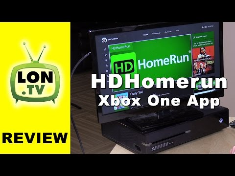Xbox One Gets DVR and Live TV Capability Through HDHomerun - Cable and OTA