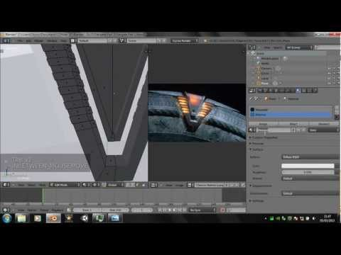 Blender 2.66 Tutorial - How to make a Stargate - Part 1