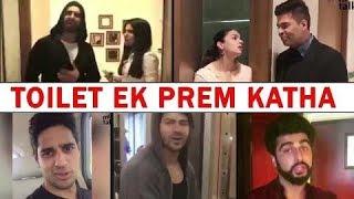 Toilet: Ek Prem Katha - Funny Review and promotion By Bollywood Celebrities Bhumi Pednekar Akshay