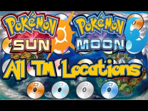 Pokemon Sun and Moon TM Guide