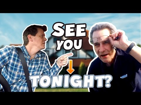 See You Tonight! - Telling people we'll see them at their house tonight!