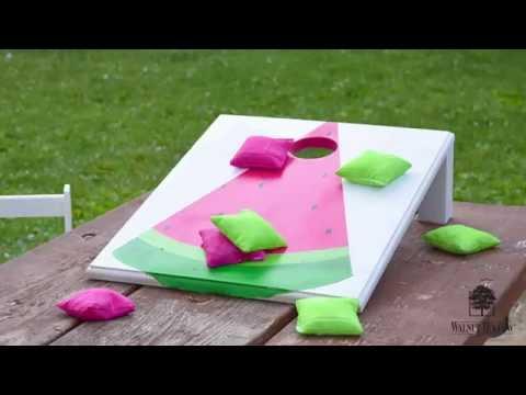 DIY Tabletop Cornhole Game