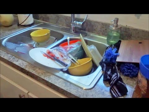 SUPER MESSY WHOLE APARTMENT SPEED CLEAN!! +HOW I MAKE MONEY OFF RECIEPTS