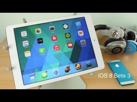 iOS 8 Beta 3 - Das sind die neuen Features!