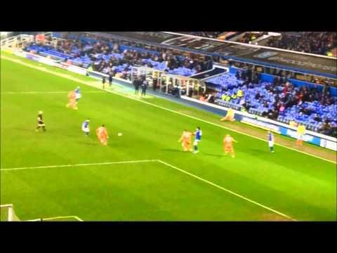 Birmingham City V Blackpool full highlights 5/3/2013