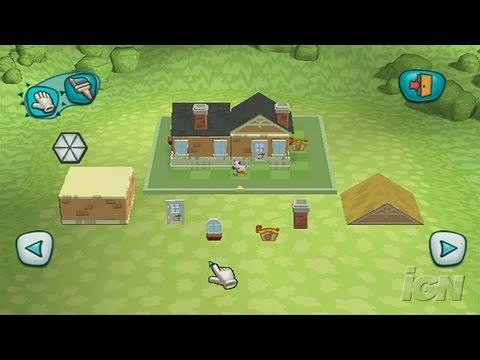 MySims Nintendo Wii Gameplay - Roaming and Building