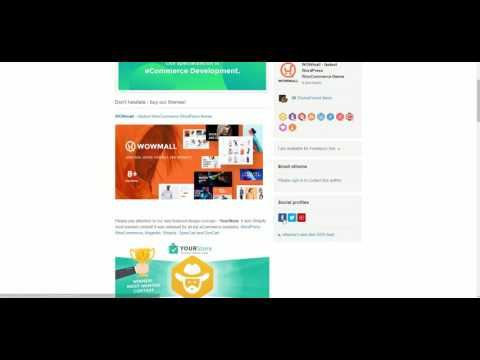 WowMall - Social Media Profiles