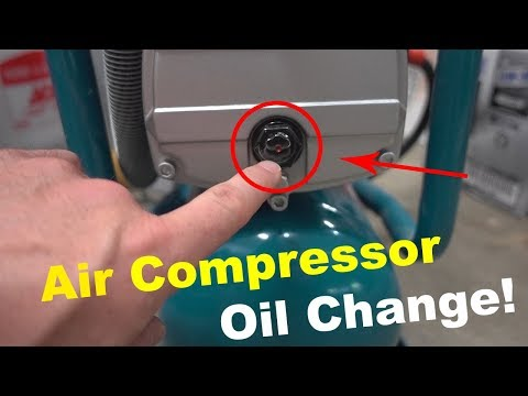 How To Change Your Air Compressor Oil