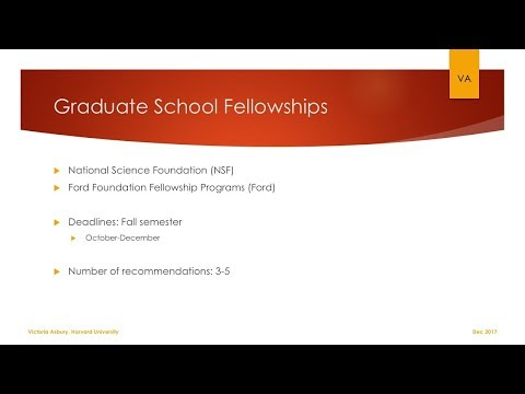 How to ask for letters of recommendation (graduate school fellowships)
