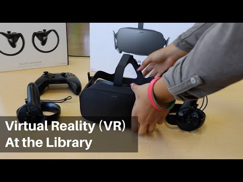 Virtual Reality is coming to the San José Public Library