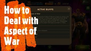 How to Deal with Aspect of War - Marvel: Contest of Champions