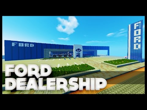 Minecraft - Ford Dealership