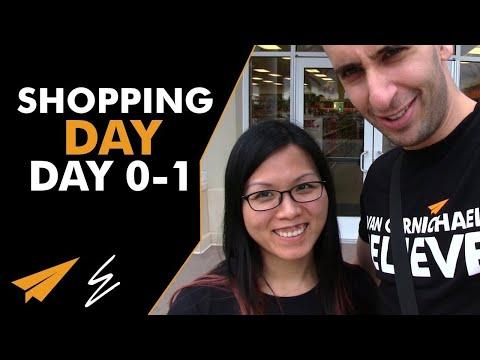 Shopping Day - Disney Days 0 - 1 - #LifeWithEvan
