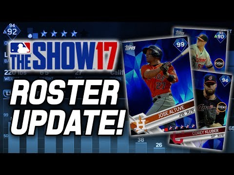 ALTUVE TO 99 & TONS OF NEW GOLDS! | MLB The Show 17 Diamond Dynasty Roster Update