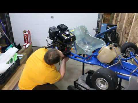 EsoBOFH's Kart Build - Ep. 1 Pt. 2: Engine Mounting & Prep
