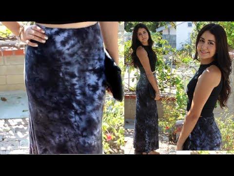 How to make Maxi Skirt DIY DamaV425