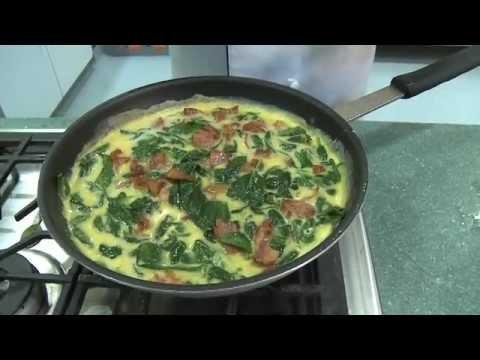 Spinach and Bacon Frittata - an easy meal idea from Fresh & Easy Neighborhood Market