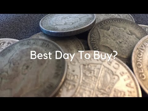 Best Day of the Week to BUY Silver?