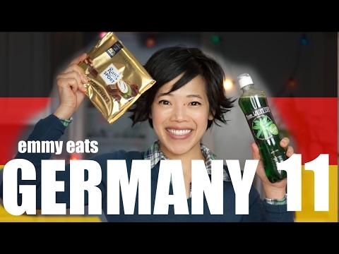 Emmy Eats GERMANY 11 Taste Test