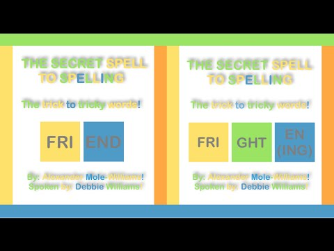 How To Spell Friend & Frighten (ing) - The Secret Spell To Spelling