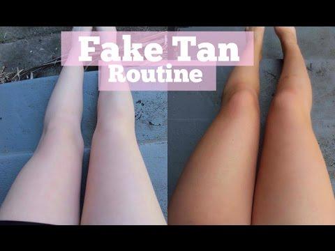 Fake Tan Routine | Bondi Sands Ultra Dark Mousse