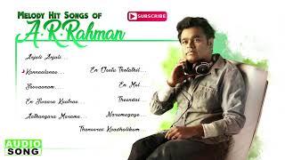 AR Rahman Tamil Melody Hit Songs   Audio Jukebox   Top 10 Melodies of AR Rahman   Music Master