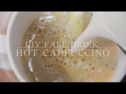 DIY Fall Drink: Hot Cappuccino
