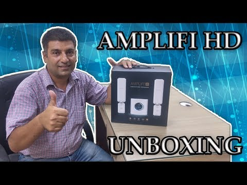 Amplifi HD unboxing | Wifi router with longest coverage