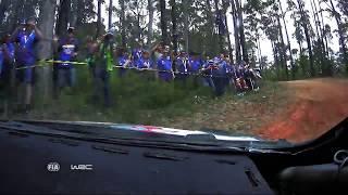 Elfyn Evans Onboard - SS6 Sherwood 2 - Rally Australia WRC 2017